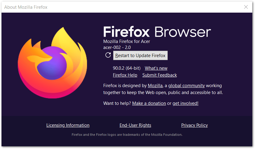 update microsoft edge or firefox web browser to fix Peacock TV buffering, not loading or workingng, playing or loading