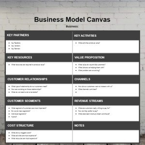 Plexie Business Model Canvas Template