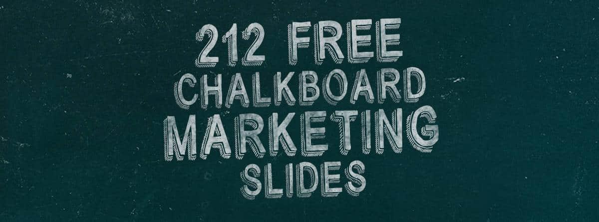 212 awesome chalkboard marketing
