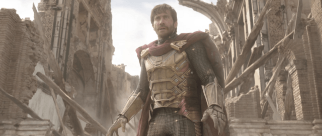 Mysterio (Jake Gyllenhaal) en Spider-Man: Far From Home (2019). Imagen: Marvel.com