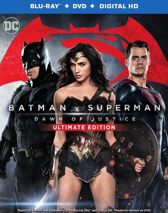La Ultimate Edition de Batman v Superman: Dawn of Justice (2016) en Blu-ray+DVD+Digital HD. Imagen: hdmoviesource.com