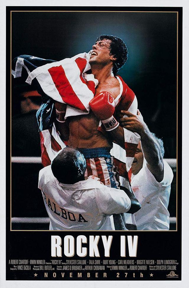 Póster de Rocky IV (1985). Imagen: IMDb.com