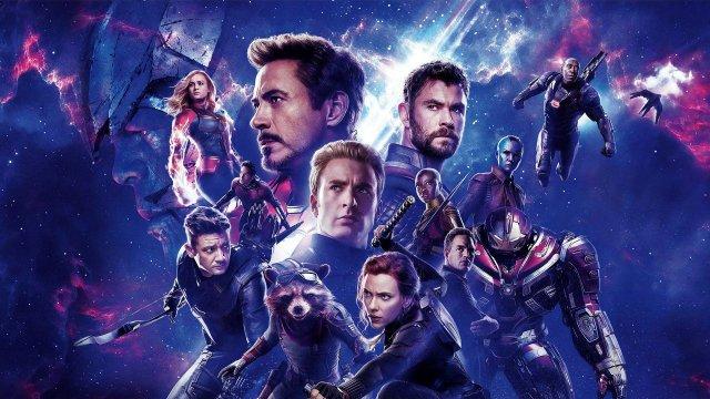 Póster sin texto de Avengers: Endgame (2019). Imagen: Comic Book Movie (CBM).