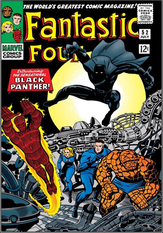 Portada de The Fantastic Four #52 (julio de 1966). Imagen: comiXology