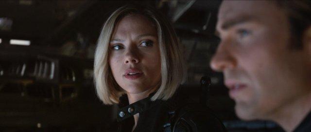 Natasha Romanoff (Scarlett Johansson) y Steve Rogers (Chris Evans) en Avengers: Endgame (2019). Imagen: The Avengers Twitter (@Avengers).