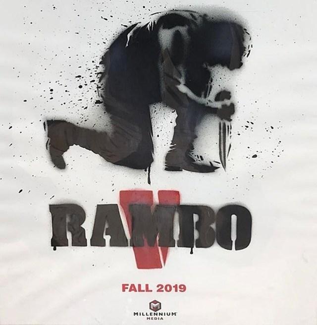 Póster de Rambo V: Last Blood (2019). Imagen: IMDb.com