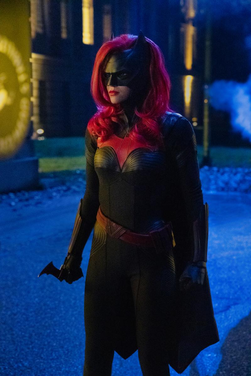Batwoman (Ruby Rose) en Elseworlds. Imagen: Jack Rowand/The CW.