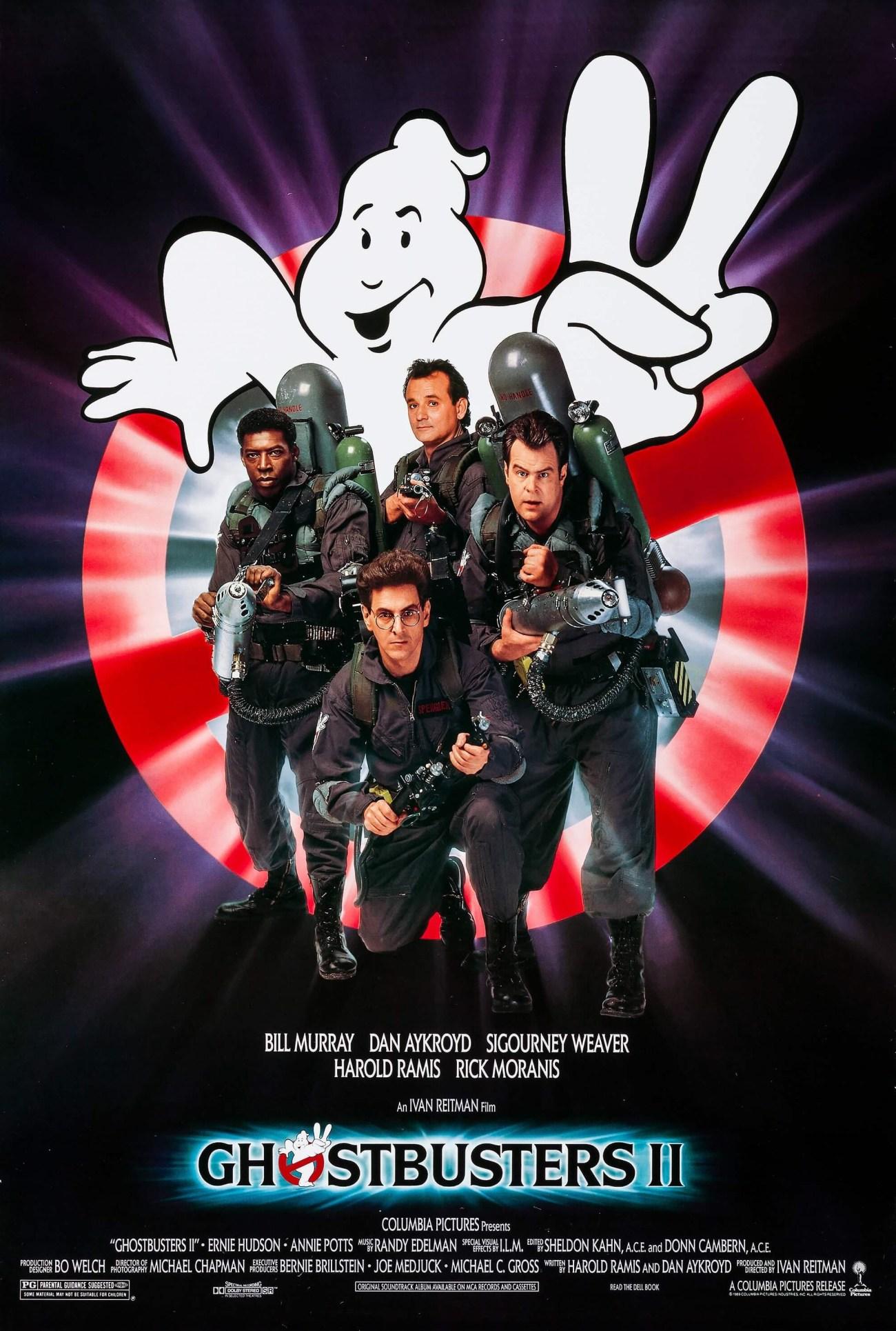 Póster de Ghostbusters II (1989). Imagen: impawards.com