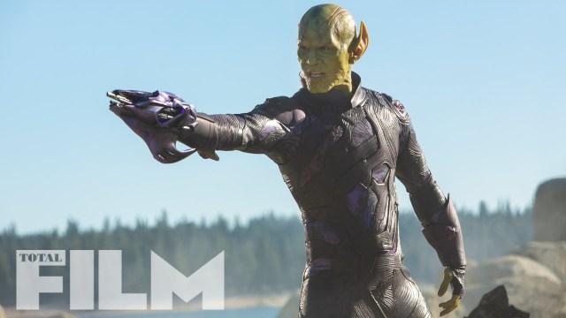 Talos (Ben Mendelsohn) en Captain Marvel (2019). Imagen: GamesRadar