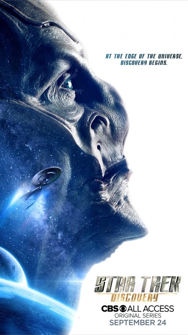 Póster de la temporada 1 de Star Trek: Discovery. Imagen: impawards.com