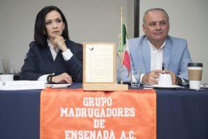 Talavera dice que ella no miente a los ensenadenses y el asunto de la tenencia de la tierra es tema federal