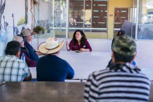 Comienza Miriam Cano recorrido en la zona sur desde SQ hasta Villa Jesús María