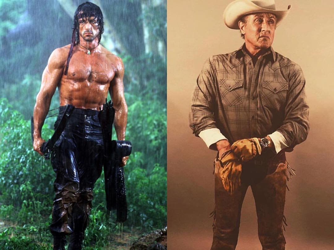 Sylvester Stallone ha interpretado a John Rambo durante casi 40 años. Imagen: Sylvester Stallone Instagram (@officialslystallone).