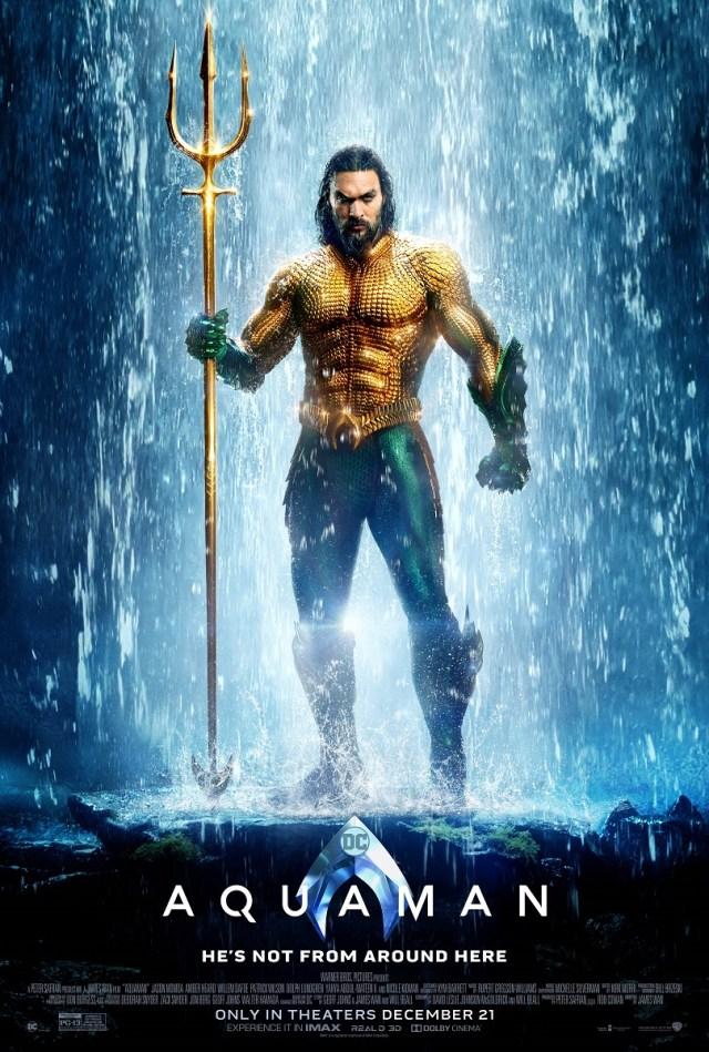 Póster de Aquaman (2018). Imagen: dccomics.com