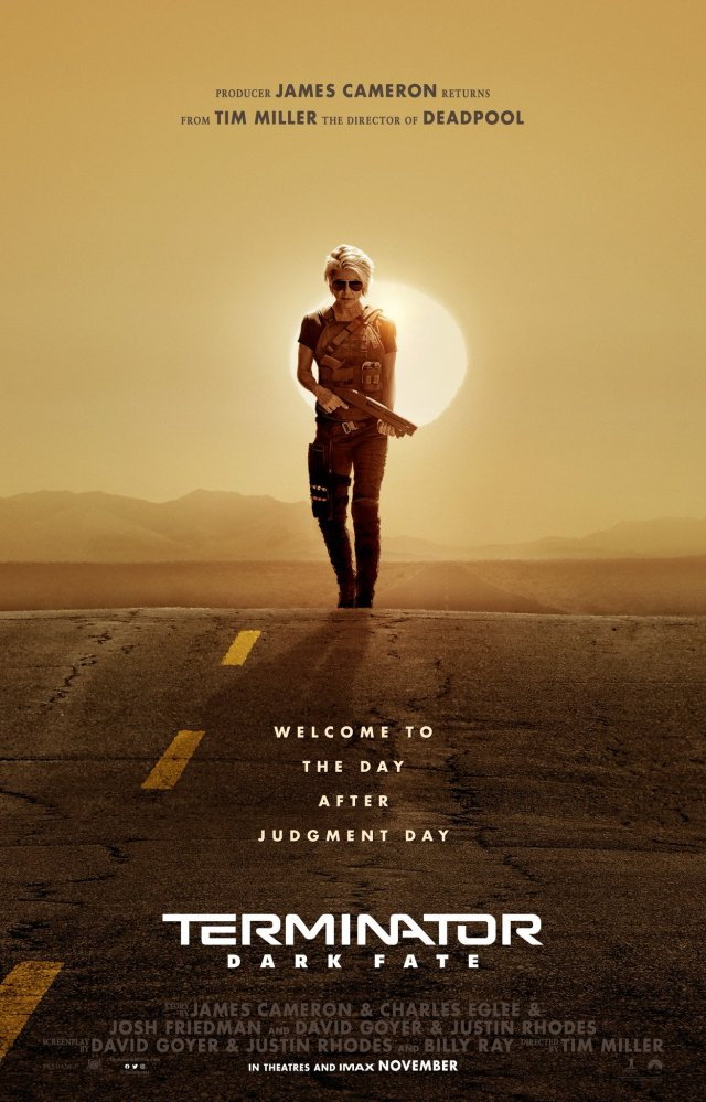 Póster de Terminator: Dark Fate (2019). Imagen: Paramount Pictures Twitter (@ParamountPics).