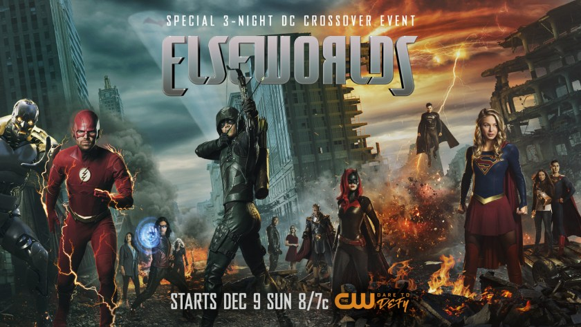 Póster del crossover Elseworlds. Imagen: impawards.com