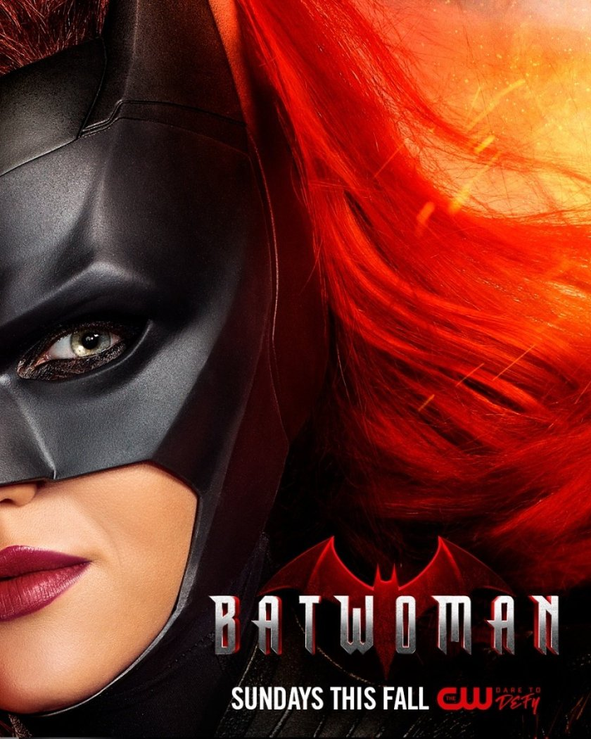 Póster de Batwoman en The CW. Imagen: ComicBook.com/The CW