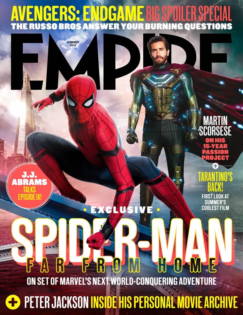 Portada de Empire (verano de 2019). Imagen: Empire Magazine
