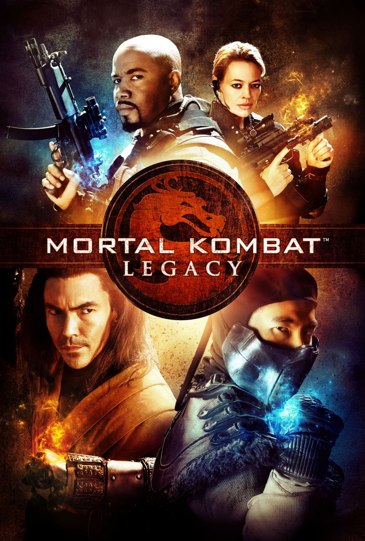 Póster de la temporada 1 de Mortal Kombat: Legacy (2011-2013). Imagen: impawards.com