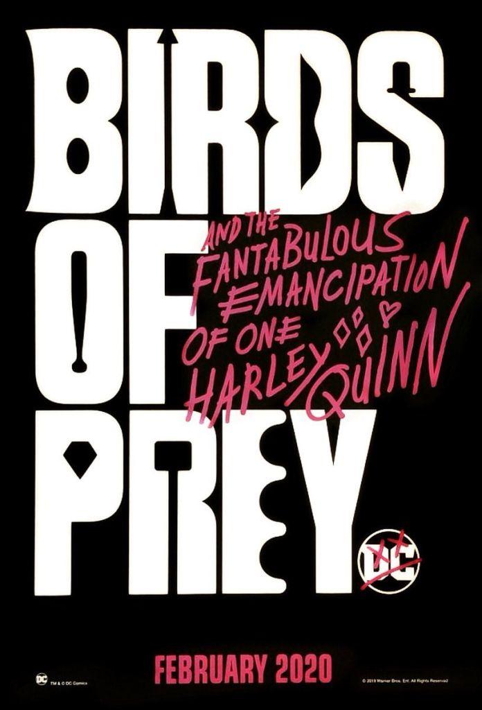 Póster de Birds of Prey (2020). Imagen: Batman-News.com