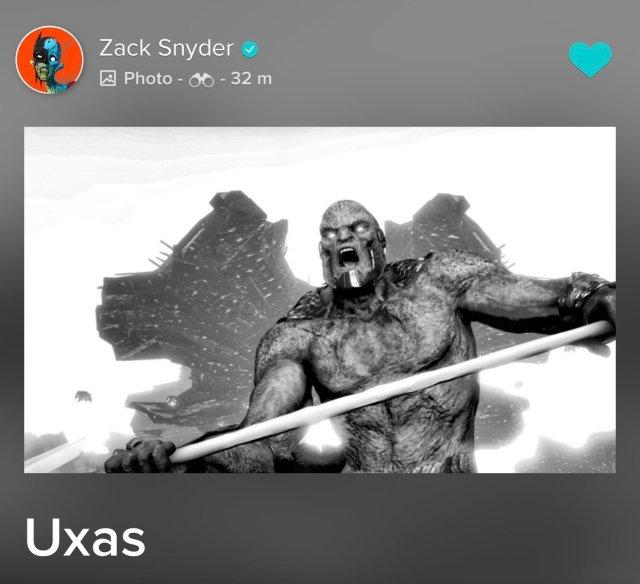 Uxas/Darkseid en Justice League (2017). Imagen: DC_Cinematic Reddit