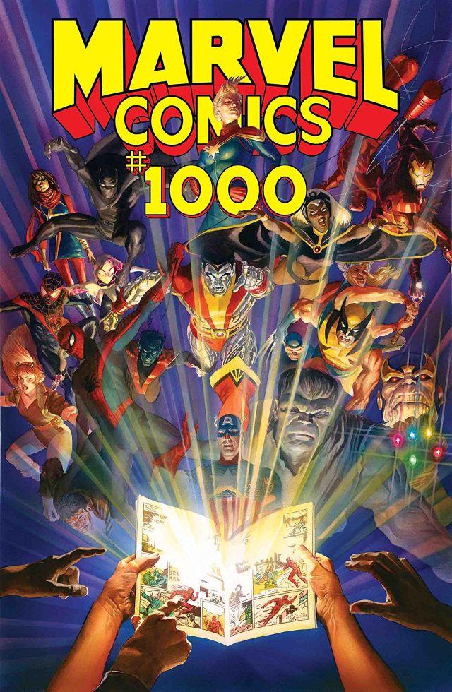 Portada de Marvel Comics #1,000 (octubre de 2019). Imagen: comicstore.marvel.com