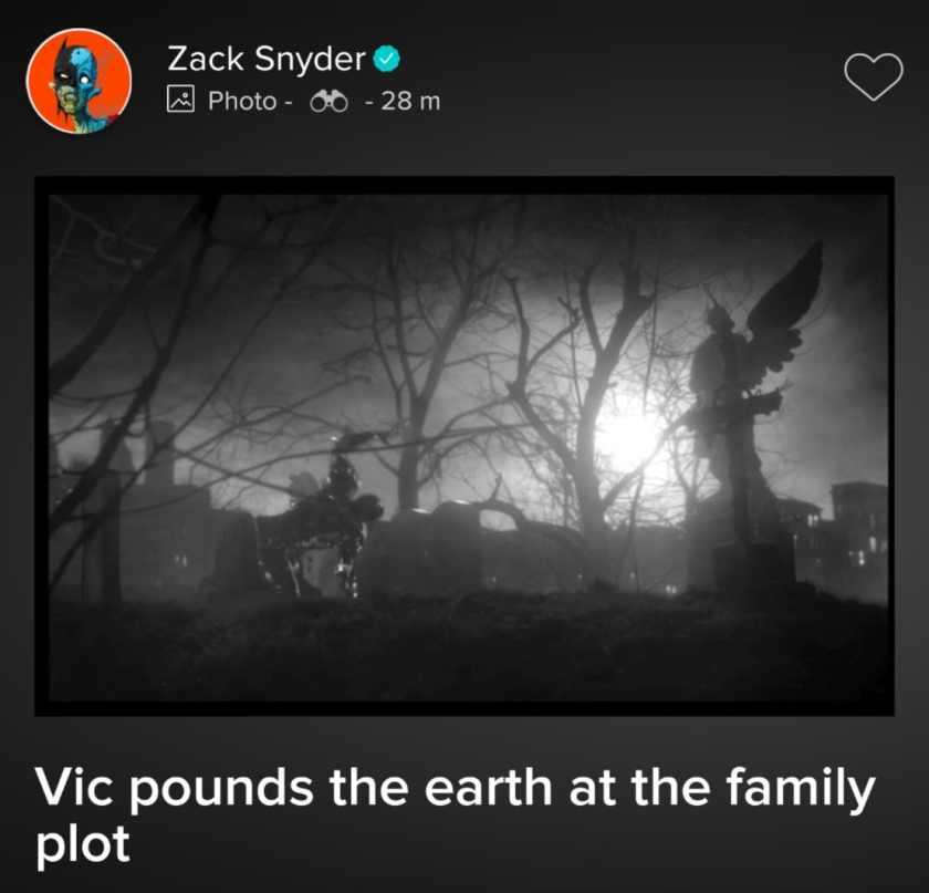 Cyborg (Ray Fisher) en una escena borrada de Justice League (2017). Imagen: ComicBookMovie.com