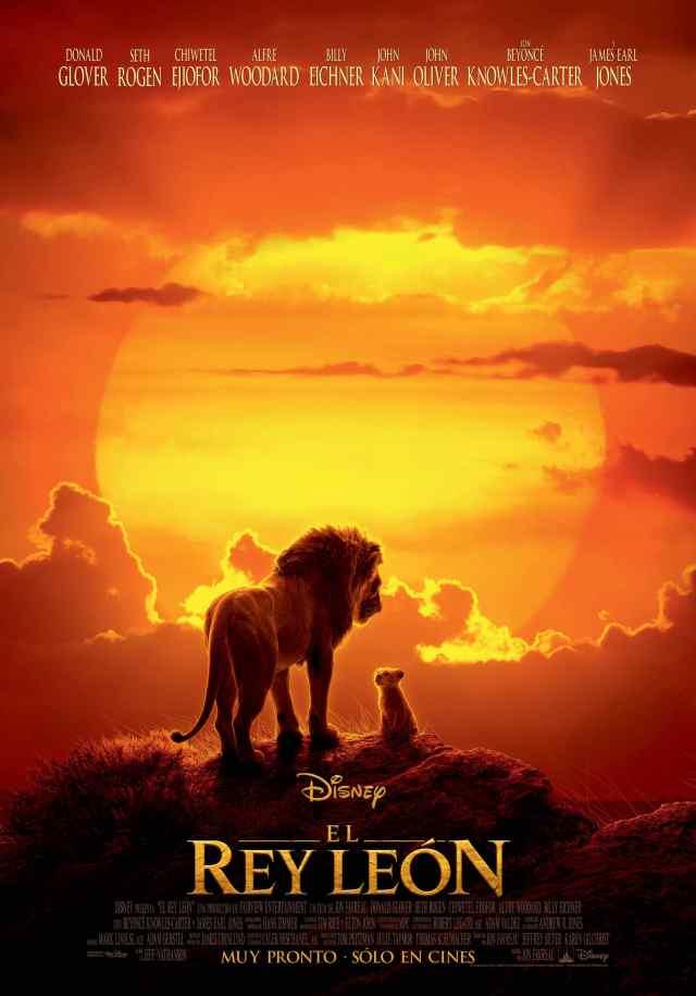 Póster en español de The Lion King (2019). Imagen: disneylatino.com