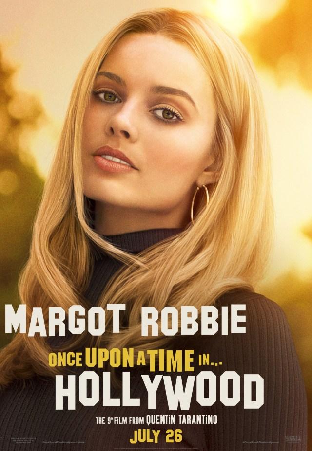 Margot Robbie como Sharon Tate en un póster de Once Upon a Time in Hollywood (2019). Imagen: impawards.com