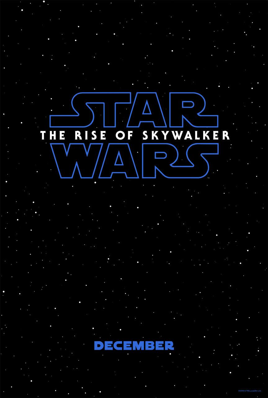 Póster de Star Wars: The Rise of Skywalker (2019). Imagen: impawards.com