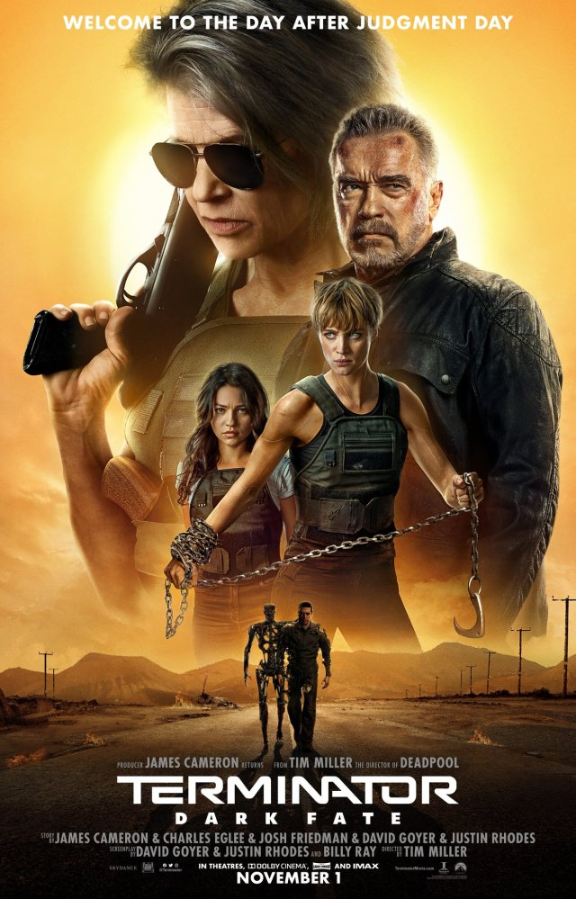 Póster de Terminator: Dark Fate (2019). Imagen: Terminator: Dark Fate Twitter (@Terminator).