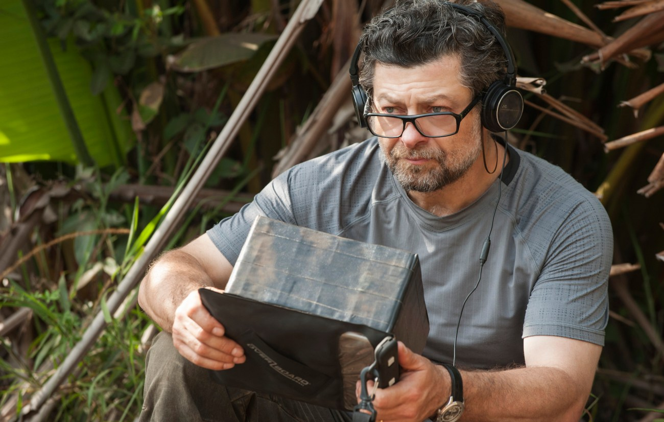 Andy Serkis en el set de Mowgli: Legend of the Jungle (2018). Imagen: David Appleby/Warner Bros.