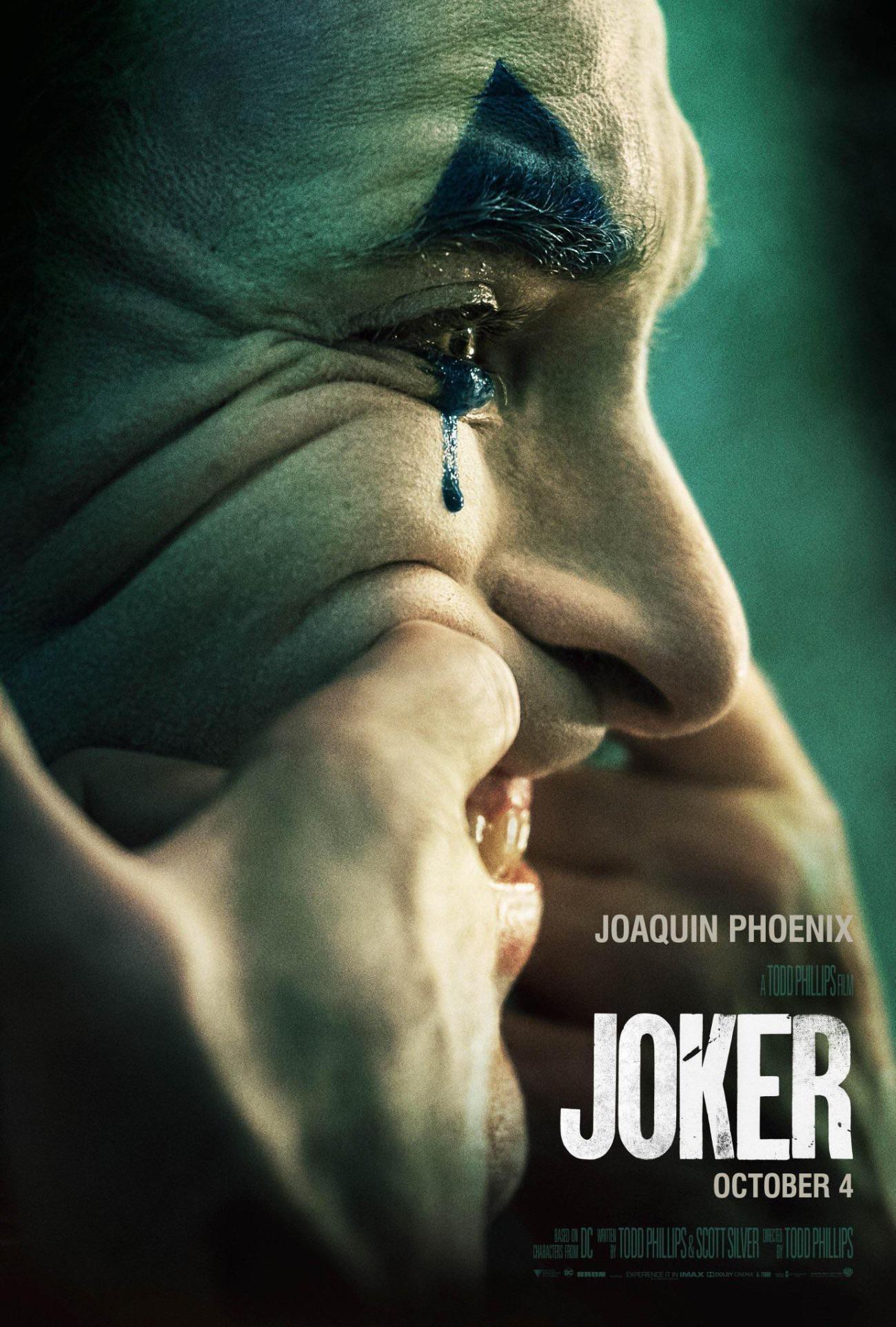 Póster de Joker (2019). Imagen: Batman-News.com