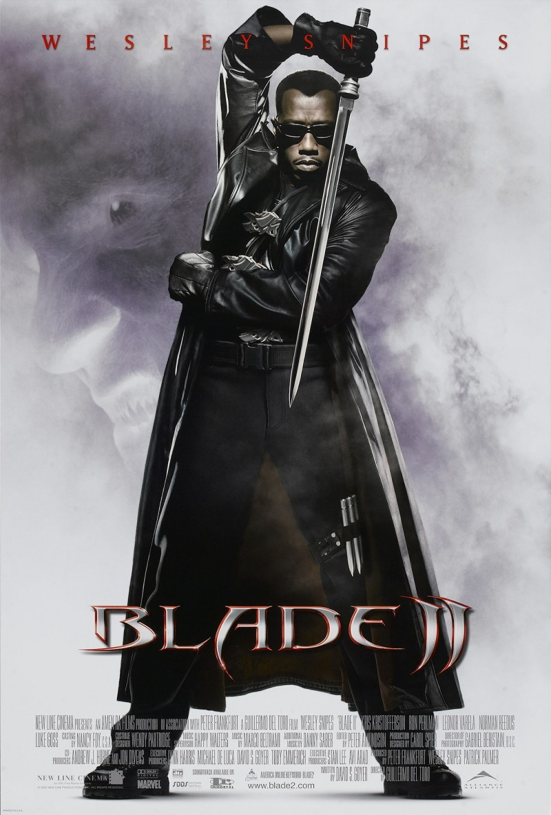 Póster de Blade II (2002). Imagen: IMDb.com