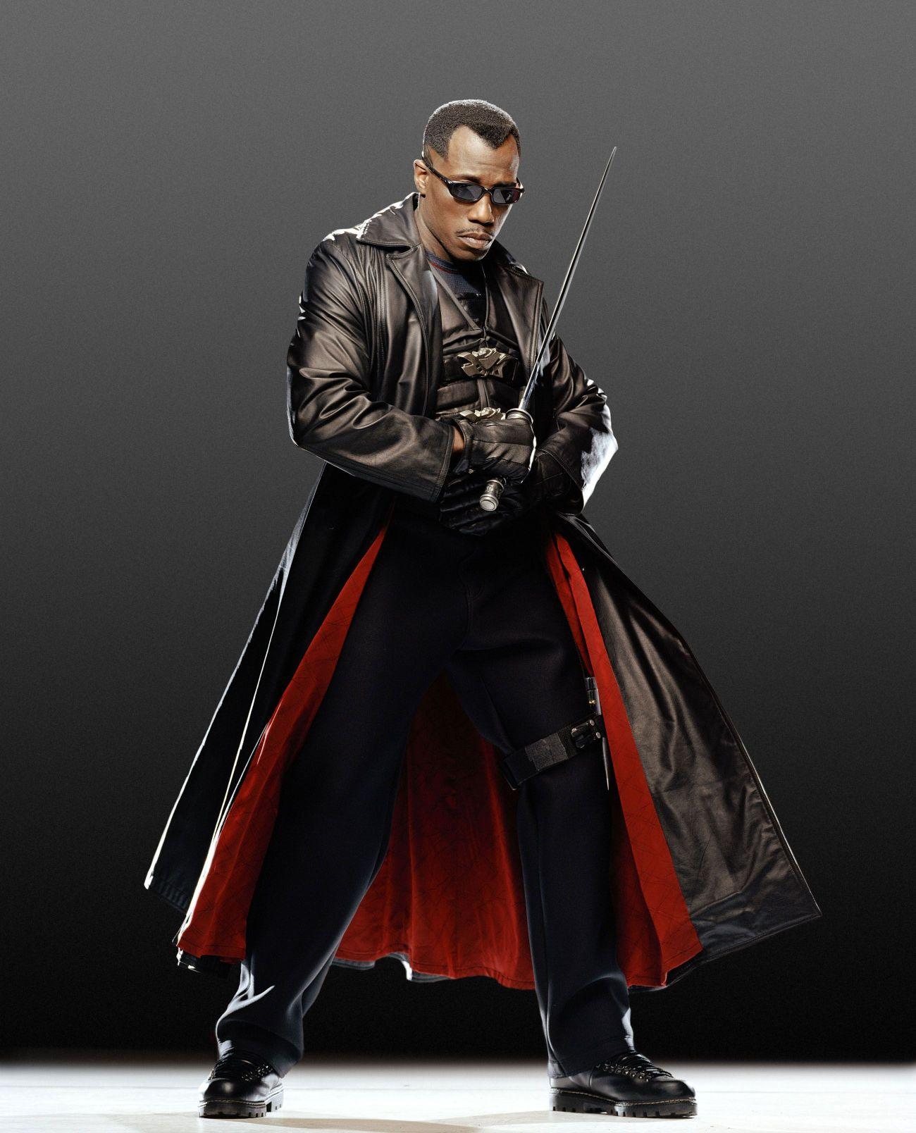 Wesley Snipes protagonizó Blade (1998), Blade II (2002) y Blade: Trinity (2004). Imagen: Digital Spy