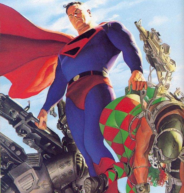 Superman en Kingdom Come (1996) por Alex Ross. Imagen: Alex Ross Twitter (@thealexrossart).