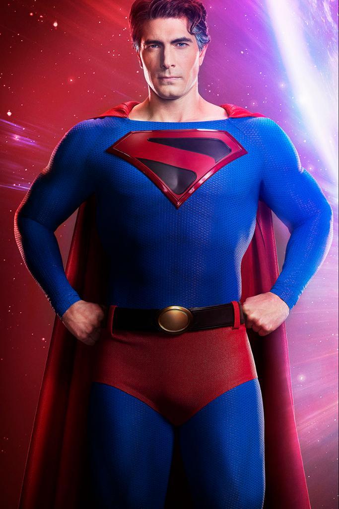 Brandon Routh como Superman en Crisis on Infinite Earths. Imagen: Superman Twitter (@DCSuperman).