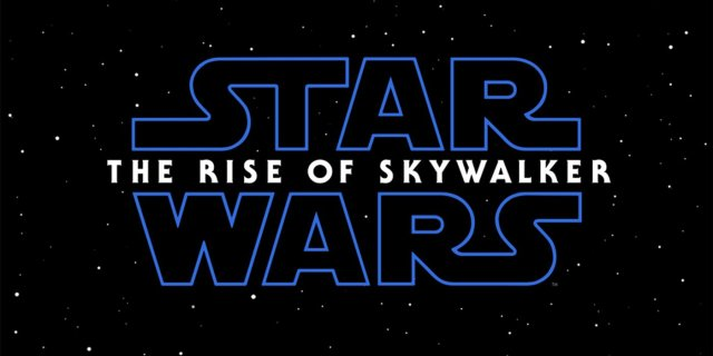 El logotipo de Star Wars: The Rise of Skywalker (2019). Imagen: ComicBookResources
