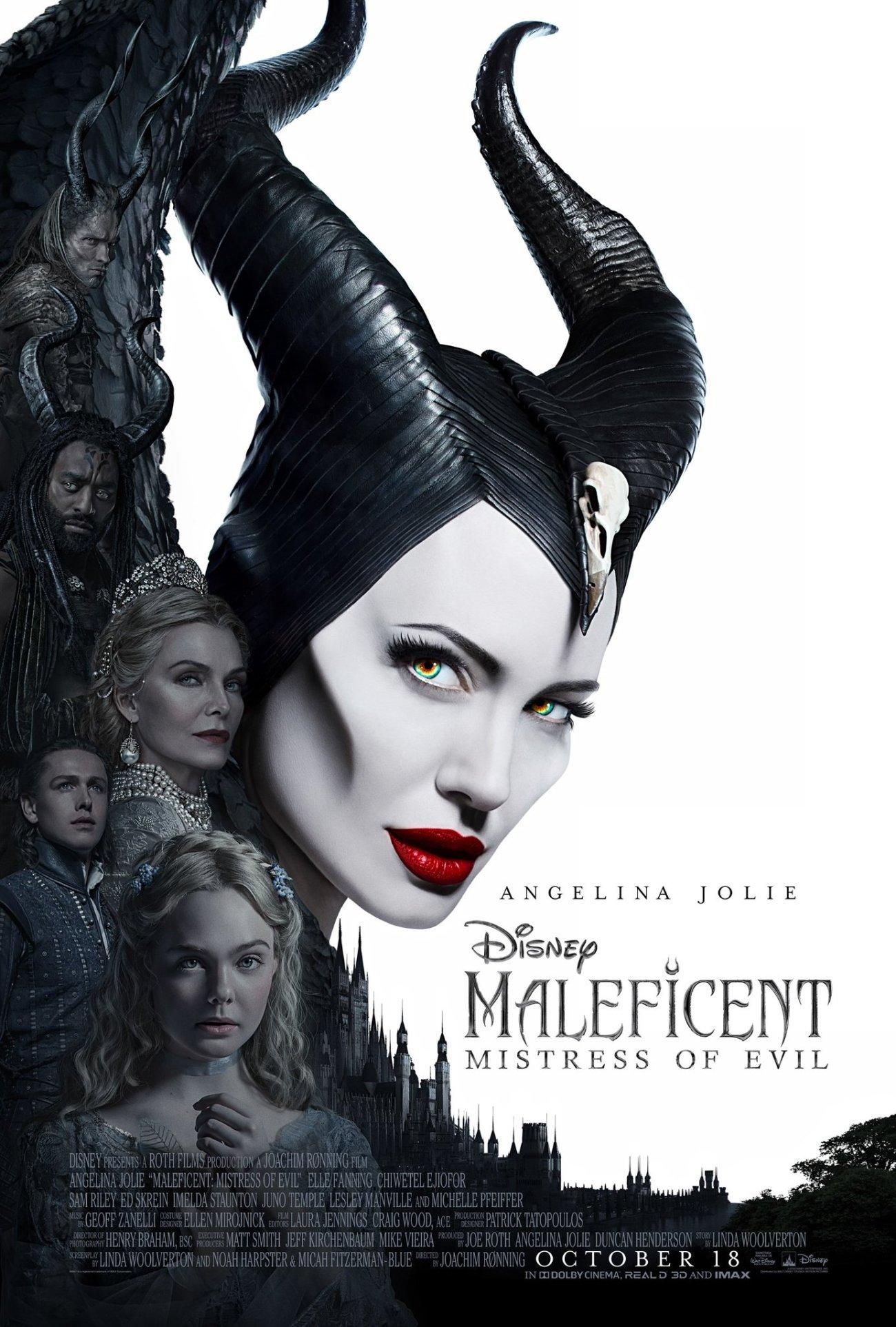 Póster de Maleficent: Mistress of Evil (2019). Imagen: Maleficent: Mistress of Evil Twitter (@Maleficent).