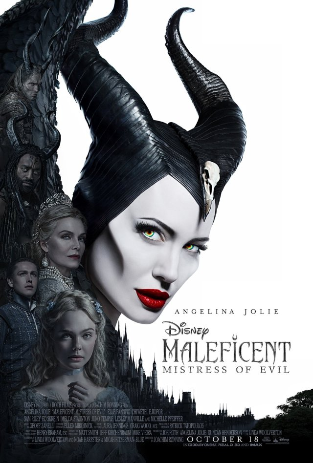Póster de Maleficent: Mistress of Evil (2019). Imagen: Maleficent: Mistress of Evil Twitter (@Maleficent).