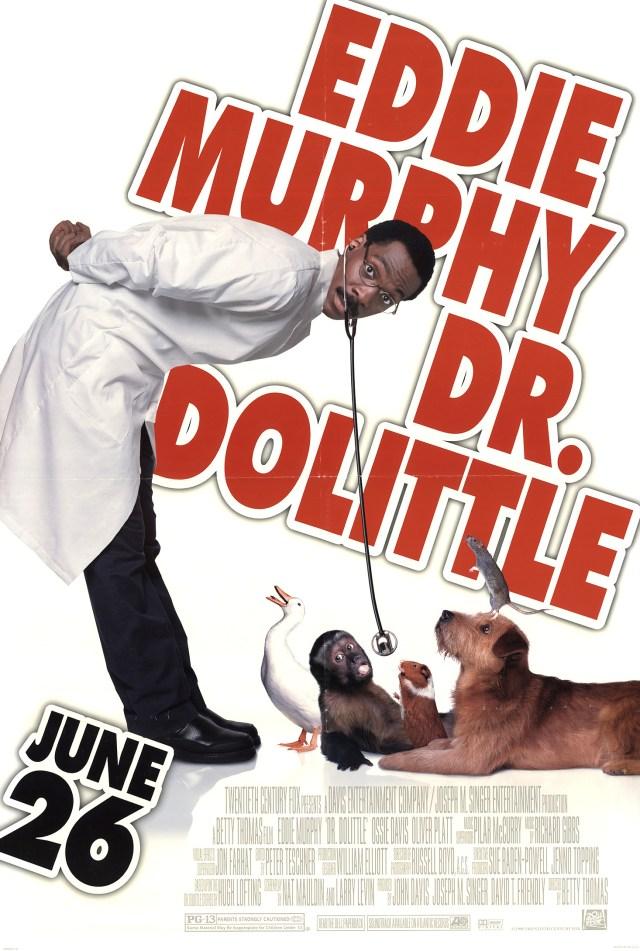 Poster de Dr. Dolittle (1998). Imagen: impawards.com