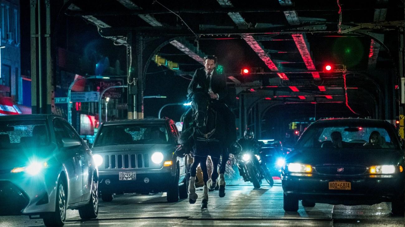 Keanu Reeves en John Wick: Chapter 3 – Parabellum (2019). Imagen: fanart.tv