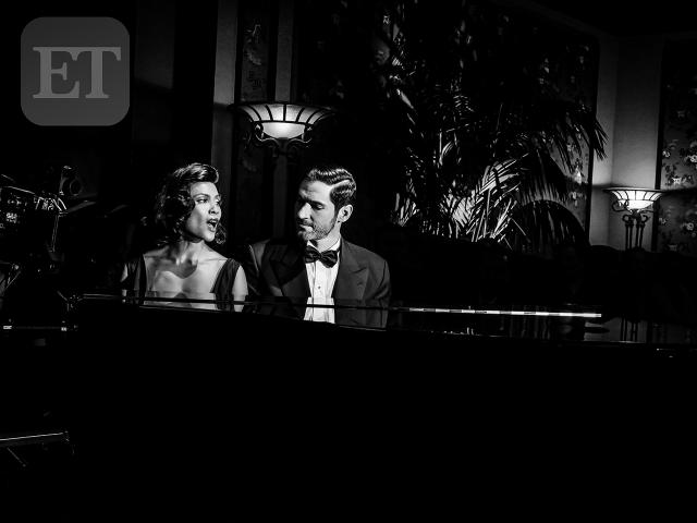 Mazikeen (Lesley-Ann Brandt) y Lucifer Morningstar (Tom Ellis) en un episodio musical de la temporada 5 de Lucifer. Imagen: Joshua Coleman/Entertainment Tonight
