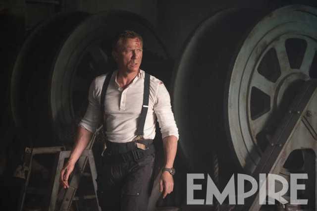Daniel Craig como James Bond en No Time to Die (2020). Imagen: Empire Magazine