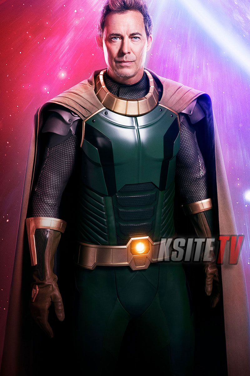 Tom Cavanagh como Pariah en Crisis on Infinite Earths. Imagen: KSiteTV