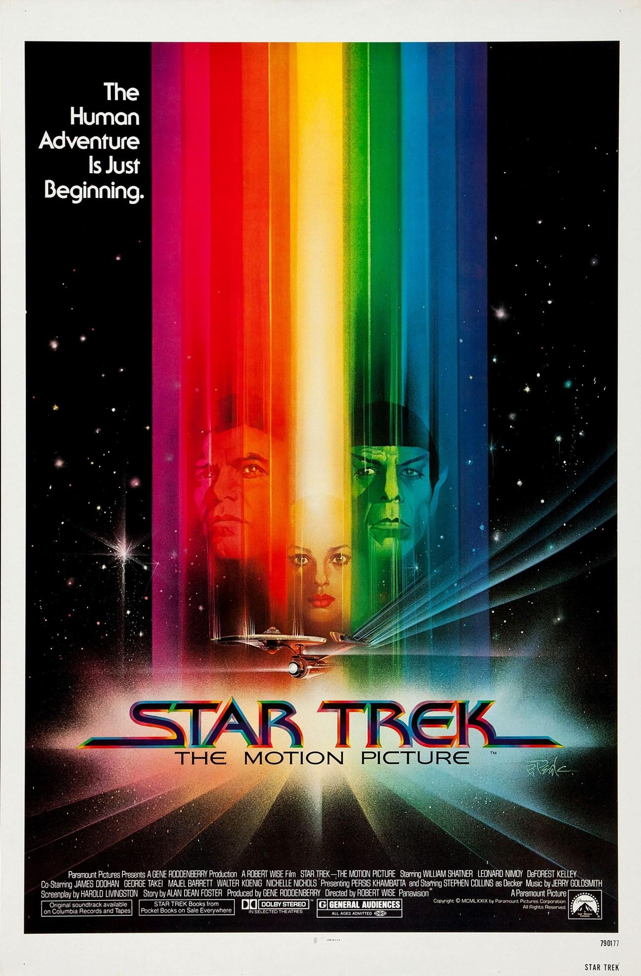 Póster de Star Trek: The Motion Picture (1979). Imagen: impawards.com