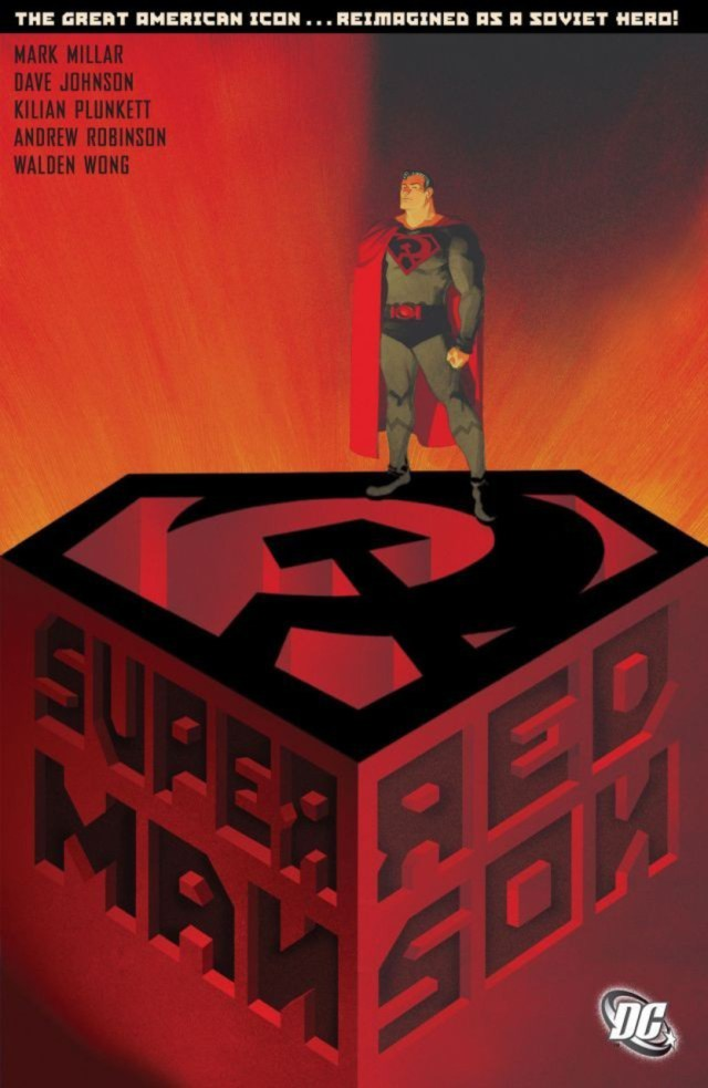 Tomo recopilatorio de Superman: Red Son (2003). Arte por Dave Johnson. Imagen: Comic Vine