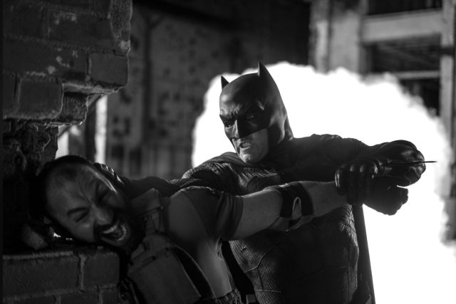 Batman (Ben Affleck) en el Snyder Cut de Justice League (2017). Imagen: ComicBookMovie.com (CBM).