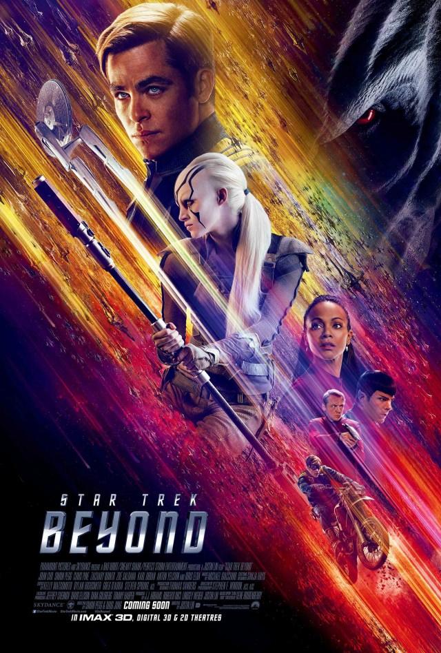 Póster de Star Trek Beyond (2016). Imagen: impawards.com