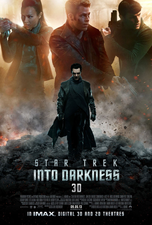 Póster de Star Trek Into Darkness (2013). Imagen: impawards.com